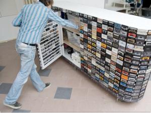 cassette closet
